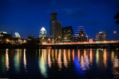 Austin Skyline Night